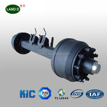 Trailer axle manufacturers big capacity German type trailer axle loading king trailer parts