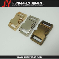 Dgjinyu paracord bracelet buckle,curved metal buckle,5/8 metal buckles dog collars
