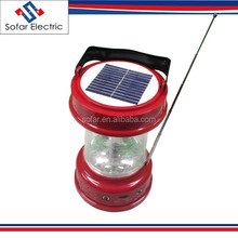 Multi-Function 4V 3.5A 3W Portable Solar Power LED Hand Light with Radio