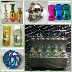 Silver, gold & colorful spray chrome chemicals/ chrome paint for spectra chrome