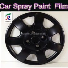 Wholesale rubberized matte flat black purple silver white plastidip spray coating aerosol gallon paint for furniture wood car