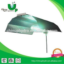 hydroponic aluminum wing lamp shade/ 1000w double ended reflector hps/ light hoods aluminum wing reflector
