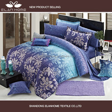 100% cotton 133*72 40s*40s reactive printting wholesale comforter cover set with zipper