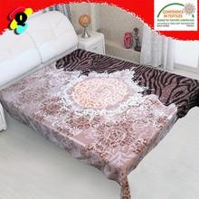 100% polyester blanketsingle ply knit blanket emboss mink blanket mora blanket spain ningbo china suppliers