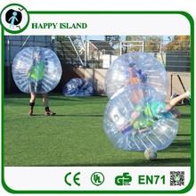 HI CE high quality human bubble/billiard soccer ball/bulk plastic balls