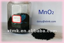 color change manganese dioxide