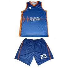 Top Quality Cheap Latest Blank Custom Print Basketball Uniform/Jersey Design