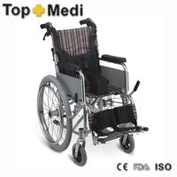 Supply Rehabilitation heavy duty aluminium wheelchair