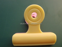 Plastic spring memo clip for promotion