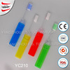 wholesale hot selling cheap disposable travel set travel toothbrush with toothpaste travel toothbrush case