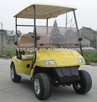 CE approved two seaters electric golf cart EG2028K01,48V/3KW Sepex,Passenger capacity 2