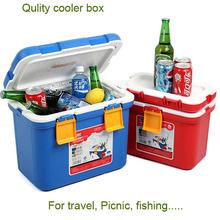 5/7/10/15/20/28L Portable insulate plastic cooler box/ Picnic ice cooler /Plastic ice chest