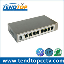 8 Port 10/100/1000 Gigabit Switch with Power over Ethernet