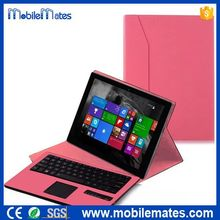 Detachable Bluetooth Keyboard Cover for Microsoft Surface Pro 3 Tablet, for Microsoft Surface 3 Leather Keyboard Case