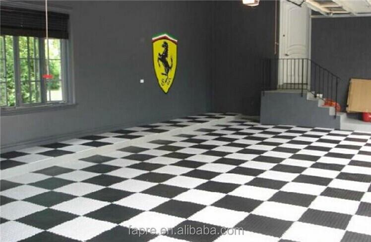 Anti Fatigue Floor Mats Interlocked Pvc Weight Lifting