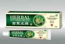La medicina herbal china miento crema para la cara, eczema ungüento para la picazón