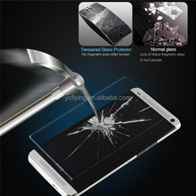 New product eye protect easy installatio tempered glass screen protector for HTC M7 one mobile accessories