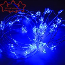 China Factory Custom Cheap Battery Operated Flowers With Led Lights