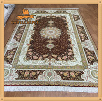 183x274cm Handmade 100% Chinese Silk Rugs for Sale