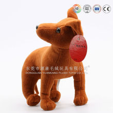 Alibaba gold supplier make stuffed plush animal dog toy
