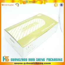 foldable cardboard packing box/Foldable paper gift box with customized logo