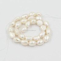 Wholesale Strand 15mm White Large Baroque Pearls