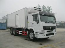 High quality 6X4 refrigerator truck HOWO freezer truck good price sinotruk cooling van truck