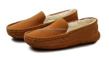 Warm winter men casual shoes mocassin shoes loafer shoes