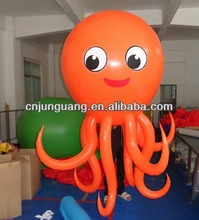 advertising inflatable octopus