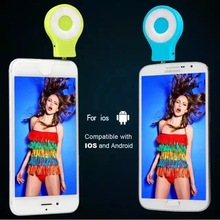 Hot selling Mini Portable 16 LED Camera Fill Flash Selfie Light For Cell Phone Tablet