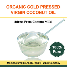 100% Natural Virgin Coconut Oil