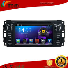 Wecaro Mirrorlink Car Dvd Radio For Jeep Grand Cherokee With Bluetooth Usb SD Radio TV