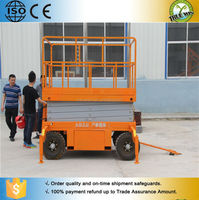 2015 New Hot Fashion economic mini mobile scissor lift table