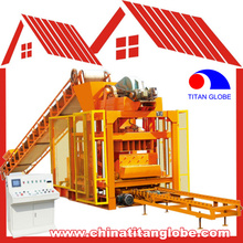 QTJ4-25 Fly Ash Brick Making Machine Building Construction Equipment For Small Business