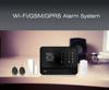 Wireless fire/burglar/intruder alarm system FDL-G90B with SOS emergency button WI-FI GSM GPRS network newest alarm system