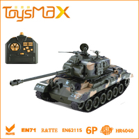 1:18 model tank rc tank with shooting bullet function