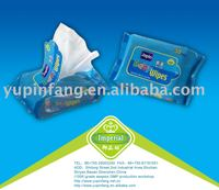 SGS tested wet wipes. FDA approved factory facial wet wipe