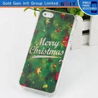 Christmas Gift Phone Case Cover For iPhone 5S Made in China