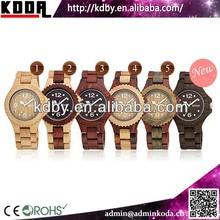 KODA bamboo watches Naturally Wholesale Wood Watch from China Factory