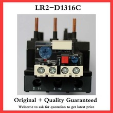 5A 6kW Breaker Volt LR2-D1316C 1NO 1NC 3 Pole Thermal Overload Relay