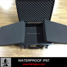 Hot selling Custom ABS heavey Plastic Case with Handle &Foam Insert HTC021
