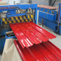 Zinc Coated Corrugated Color Steel Roofing Plate