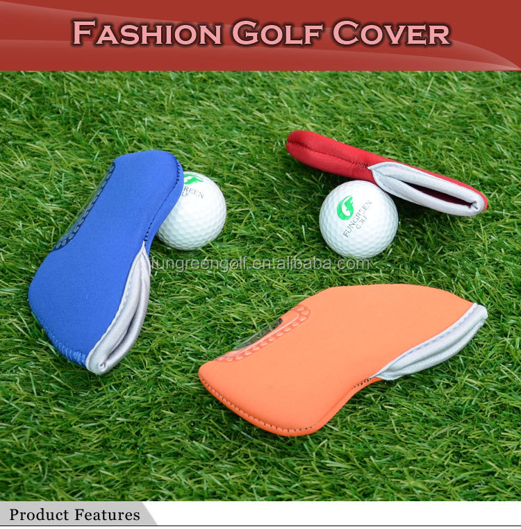Hot Sale Multicolor Knitted Golf Head Cover in 2014