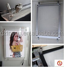 China supplier A2 Size led pictures aluminium frame