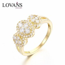 New CZ Ring Factory Direct Sale 925 Sterling Silver SRG119