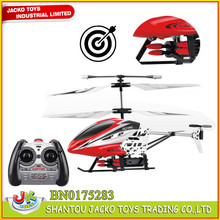 Small Size Alloy 3CH RC helicopter With Airsoft Gun