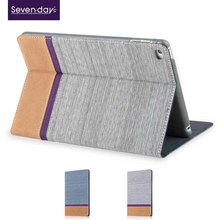 2015 new arrival book style case for ipad5,flip leather case for ipad5