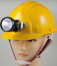 High Quality Safety Helmet/Hat with LED Head Lamp