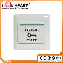Door Open Button, Door Release Button with PC fire retardant material and Silver Contact,with luminous SAC-B11