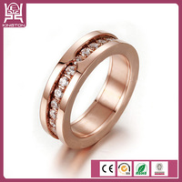 cheap wholesale titanium silver men 316l stainless steel ring